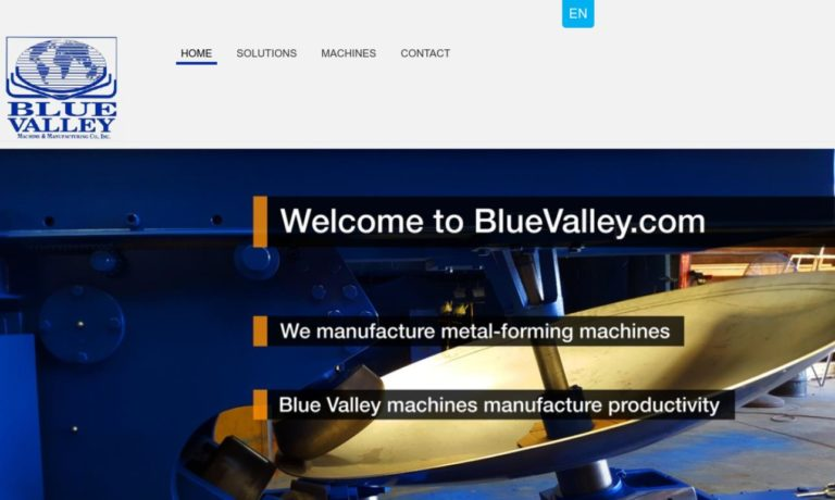 Blue Valley Machine & Mfg. Co. Inc.