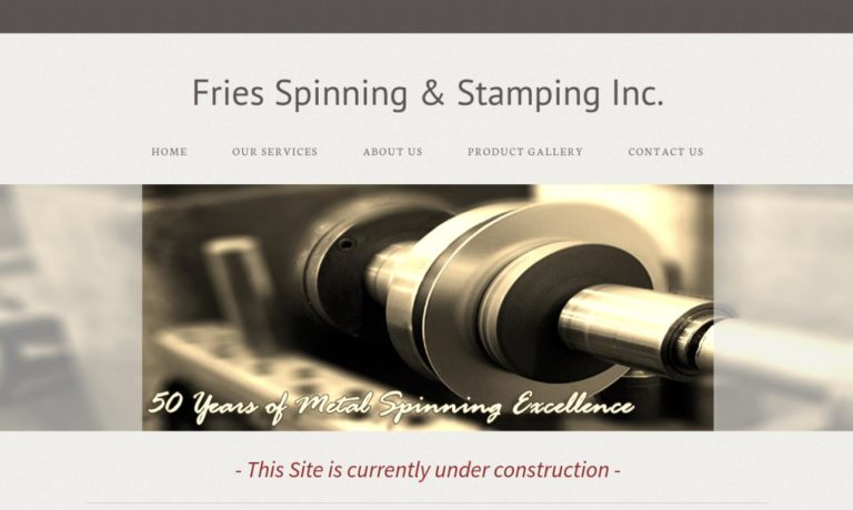 Fries Spinning & Stamping, Inc.