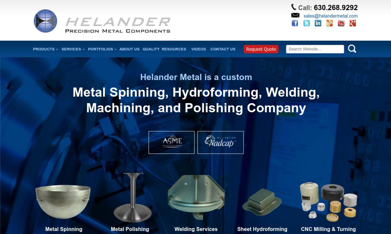 Helander Metal Spinning Company