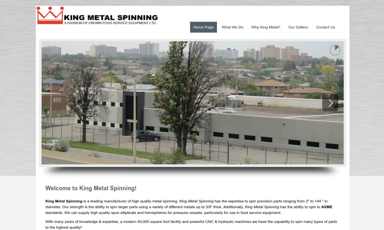 King Metal Spinning