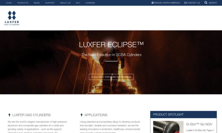 Luxfer Gas Cylinders, USA