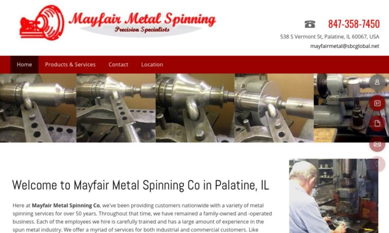 Mayfair Metal Spinning