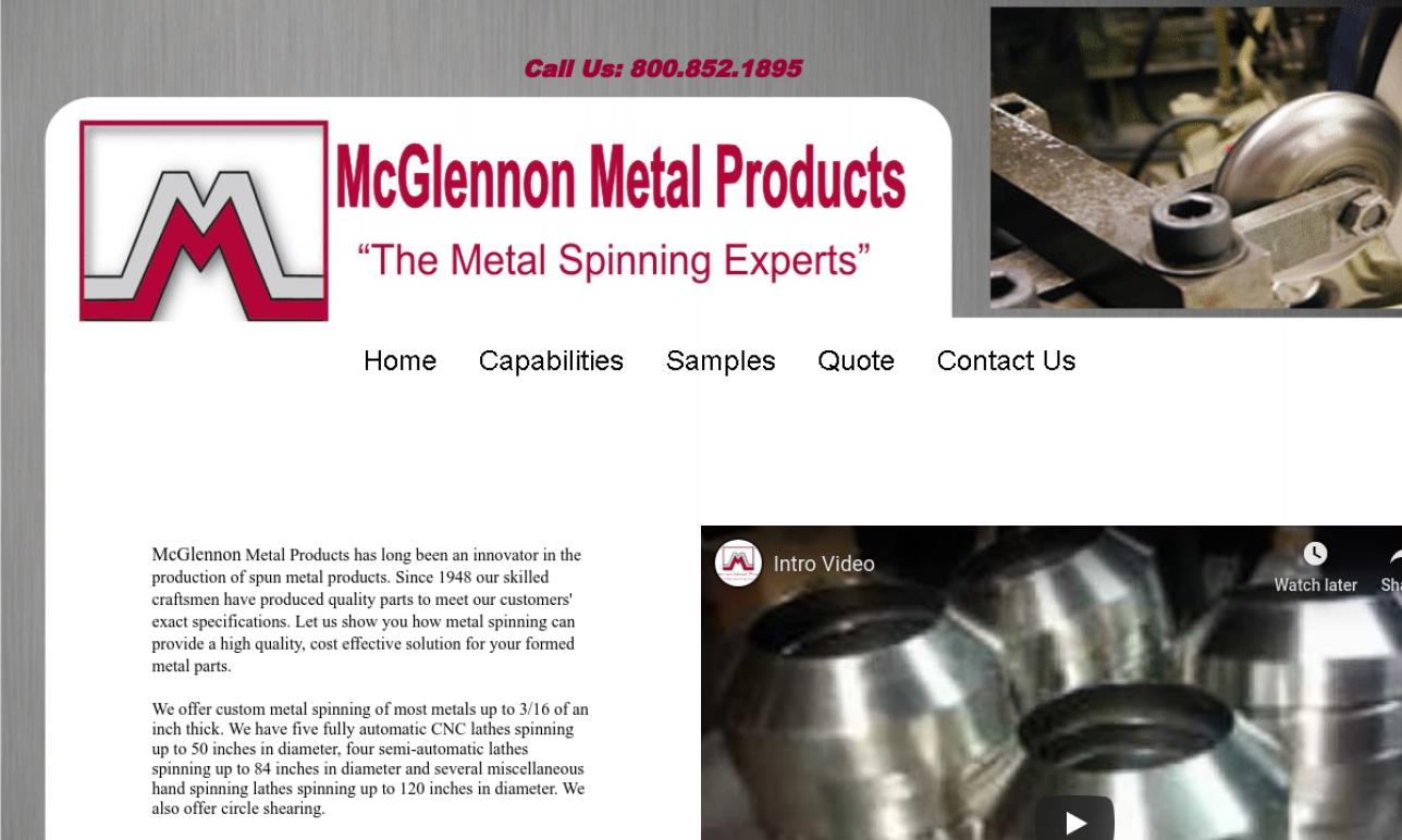 More Metal Spinning Company Listings