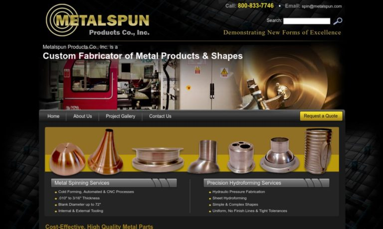 Metalspun Products Company, Incorporated