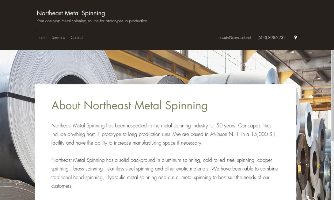 Northeast Metal Spinning, Inc.