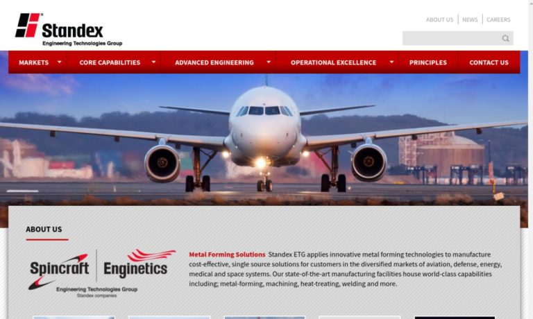 Spincraft – Standex Engineering Technologies Group