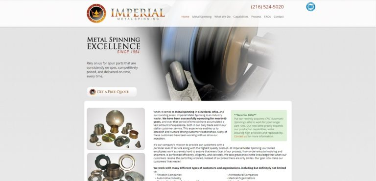 Imperial Metal Spinning Co