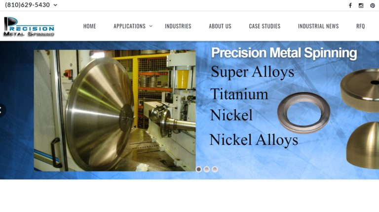 Precision Metal Spinning