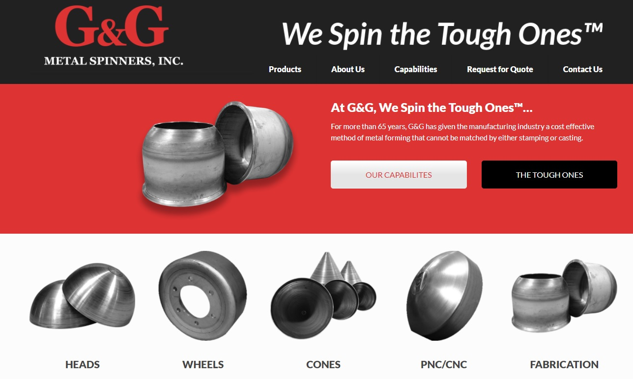 G&G Metal Spinners, Inc.