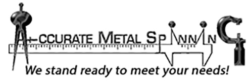 Accurate Metal Spinning Logo